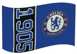 Chelsea Football Club Large 5ft x 3ft Flag (SN)